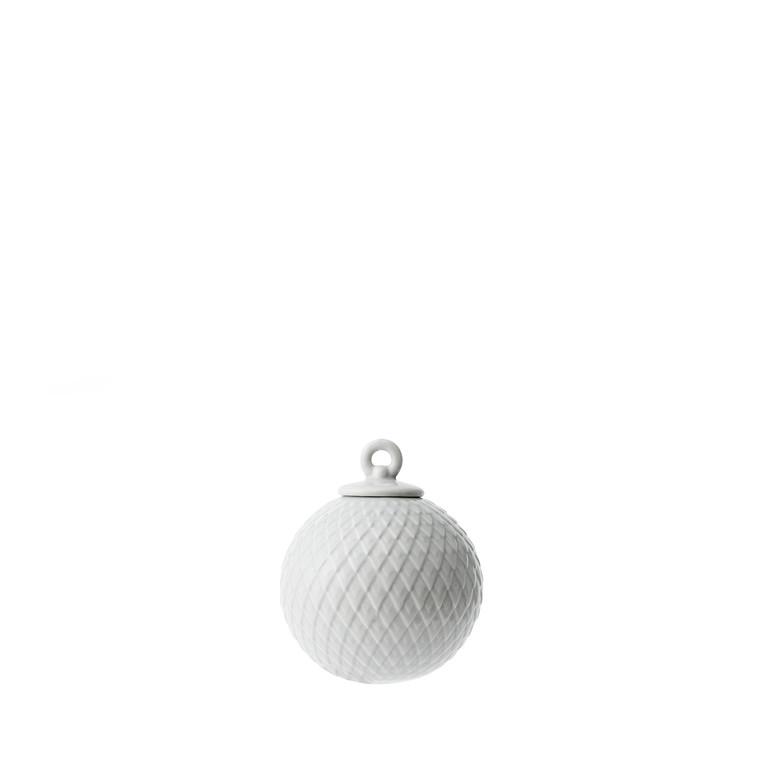 LYNGBY PORCELÆN Rhombe ophæng grå