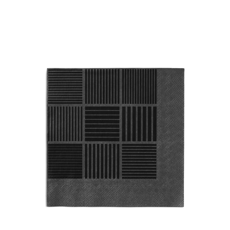 Rosendahl Nanna Ditzel papirserviet 20 stk sort