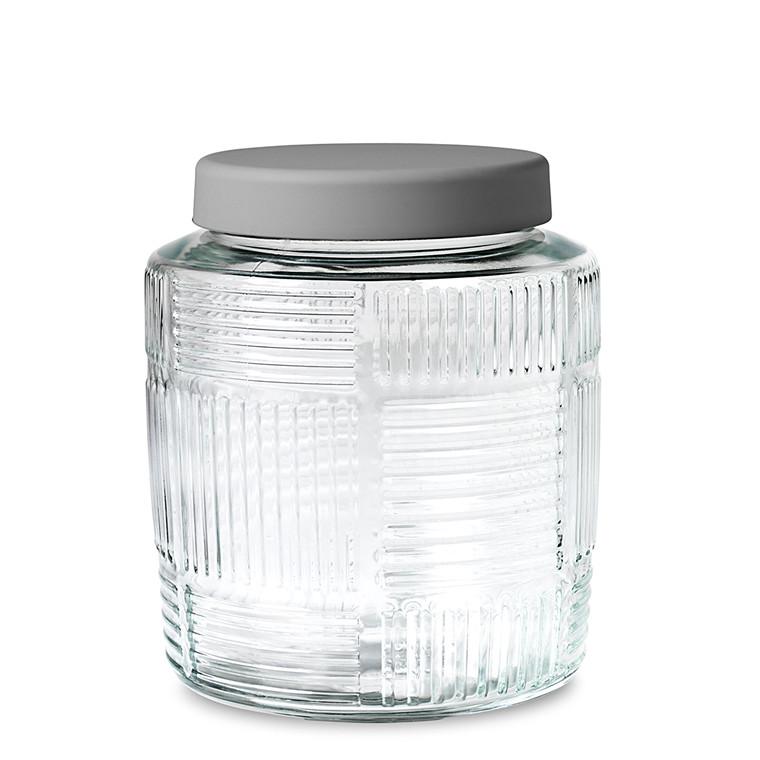 Rosendahl Nanna Ditzel opbevaringsglas 2,0 L gråt låg