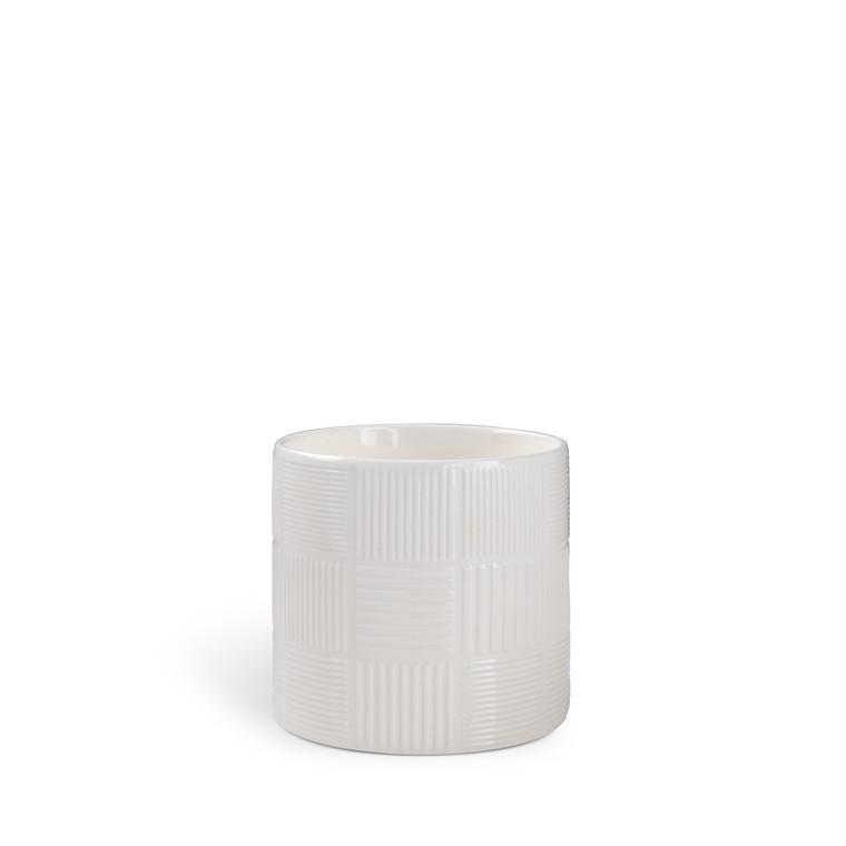 Rosendahl Nanna Ditzel urtepotte Ø 14 cm hvid