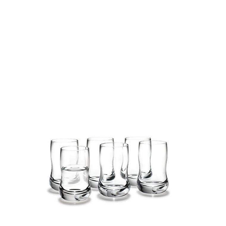 HOLMEGAARD Future Glas, klar, 6-pak, 6 cl