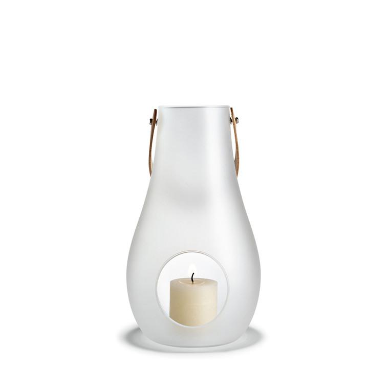 Holmegaard DWL lanterne hvid H 24,8 cm