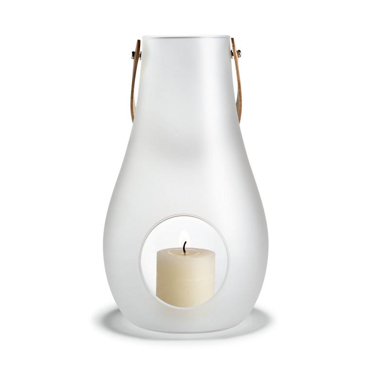 HOLMEGAARD DWL Lanterne hvid H 45 cm