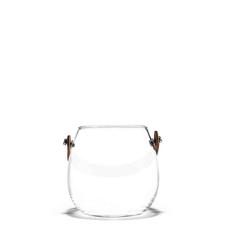 Holmegaard DWL krukke klar H 10 cm