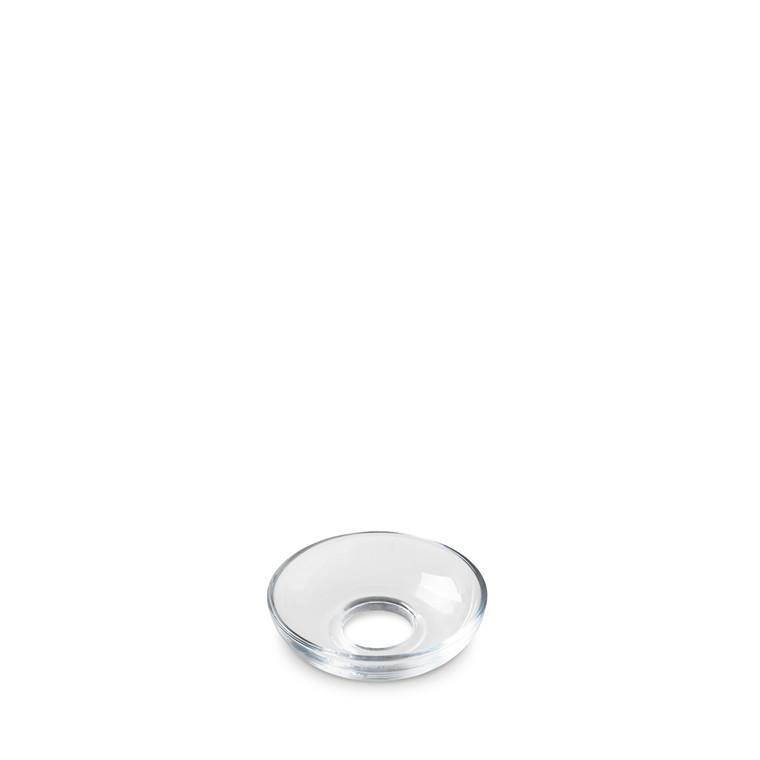 HOLMEGAARD Lumi lysmanchet skålformet klar
