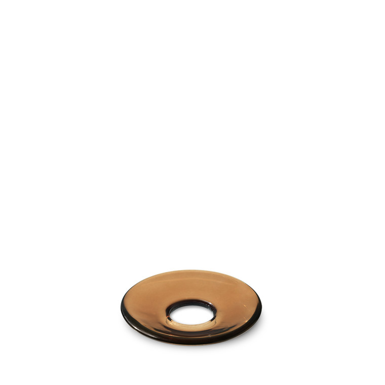 HOLMEGAARD Lumi lysmanchet flad brun