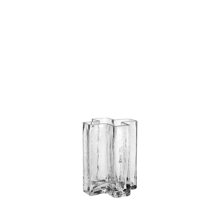 HOLMEGAARD Crosses Vase, klar, H 12 cm