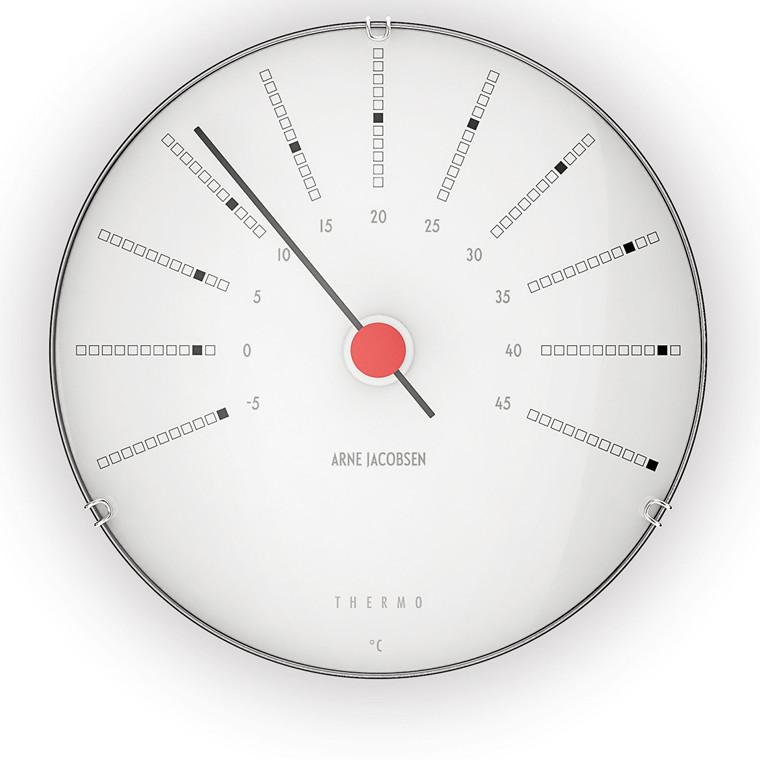 ROSENDAHL Arne Jacobsen Bankers Termometer, Ø 12 cm