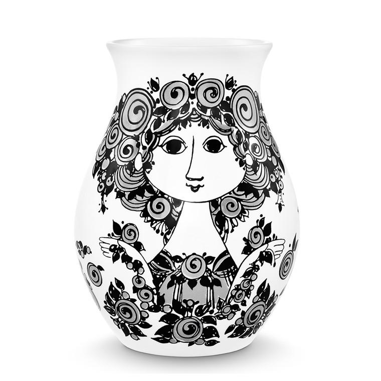 BJØRN WIINBLAD Rosalinde Vase sort H 26 cm