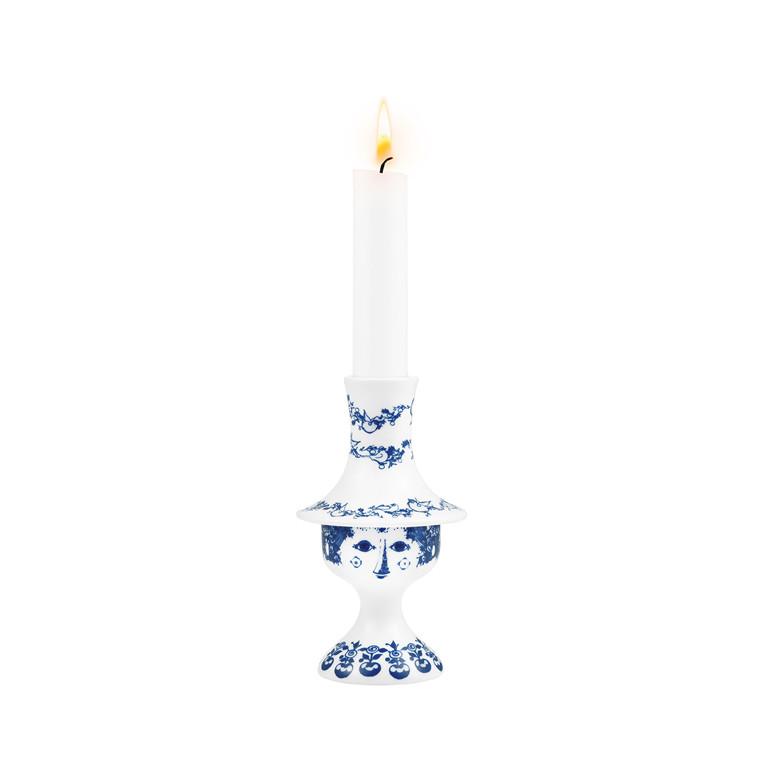 BJØRN WIINBLAD Felicia lysestage blå