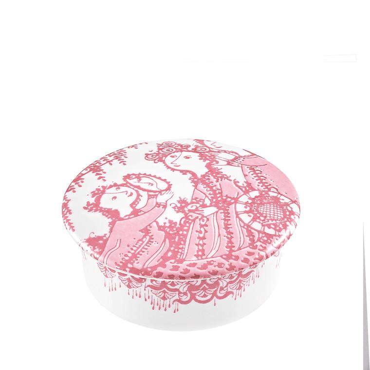 BJØRN WIINBLAD Narcisse Lågkrukke Ø 8 cm rosa