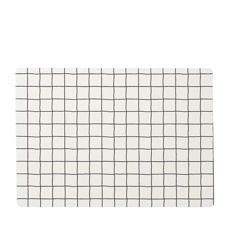 Juna Grafico dækkeserviet 30 x 45 cm hvid