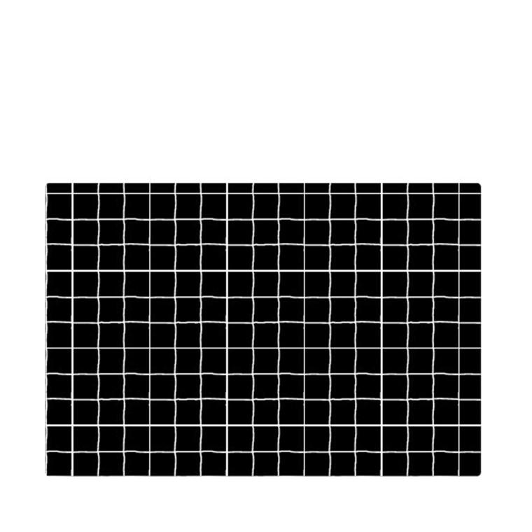 JUNA Grafico dækkeserviet 30x45 cm sort