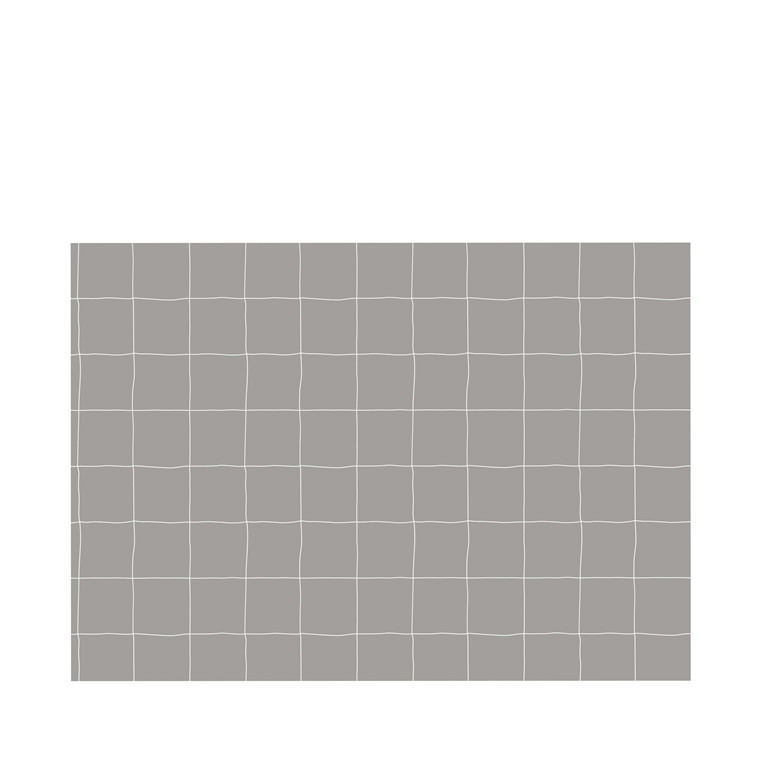 Juna Grafico dækkeserviet 30 x 45 cm dove/white