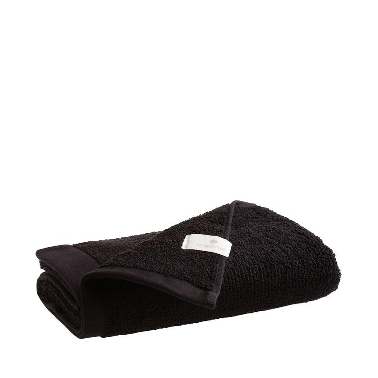 Juna Organic håndklæde 50 x 100 cm sort