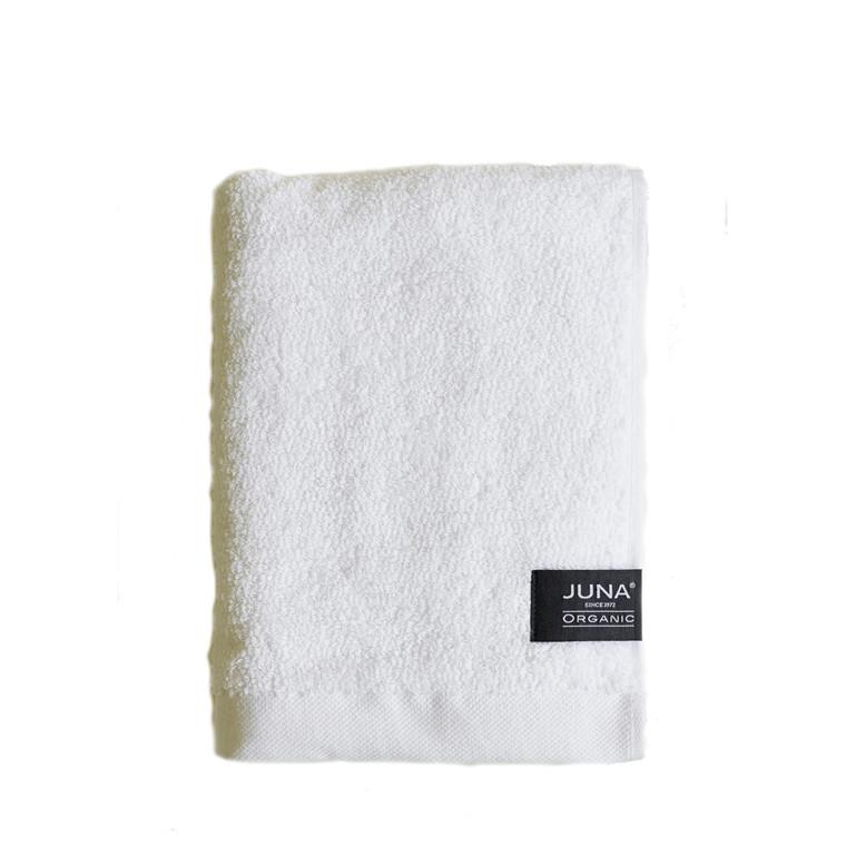 Juna Organic håndklæde 50 x 100 cm hvid