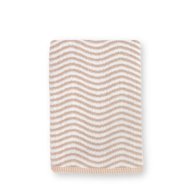JUNA Ocean Håndklæde 50x100 cm nude