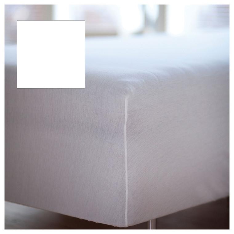 Juna Percale boxlagen 140 x 200 x 30 cm hvid