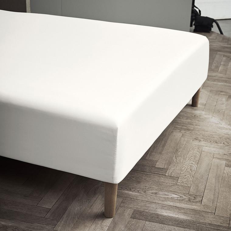 Juna Percale boxlagen 90 X 200 X 30 cm off white