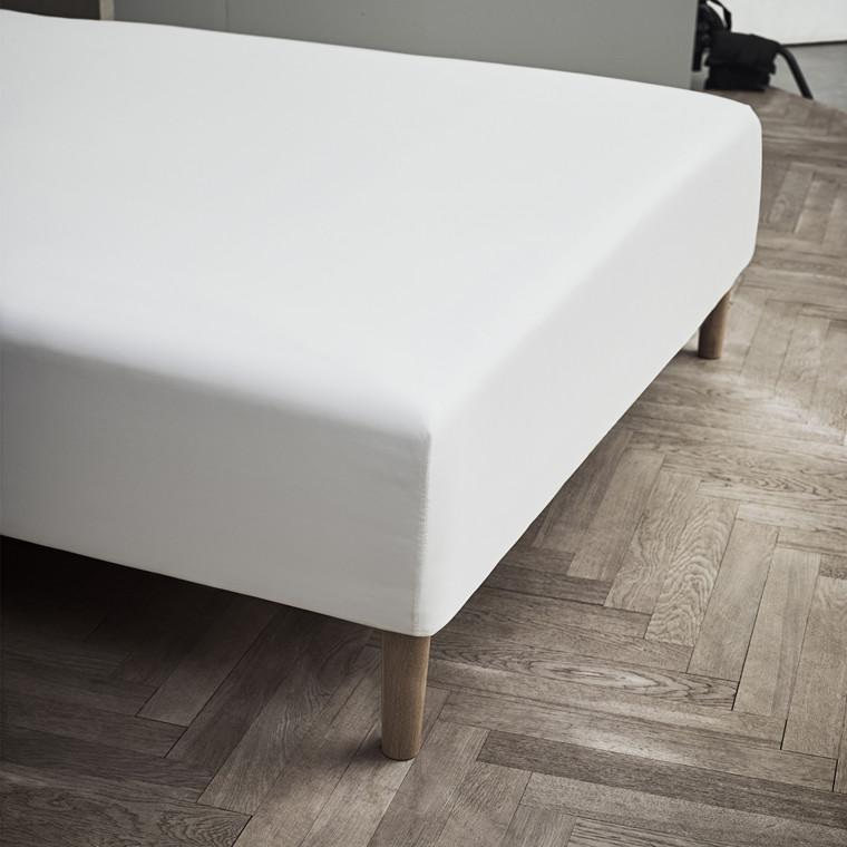JUNA Kuvertlagen Percale 120x200 hvid