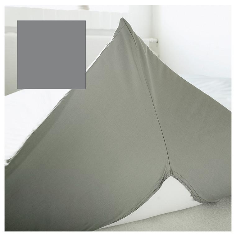 Juna Percale kuvertlagen 140 X 200 cm grå