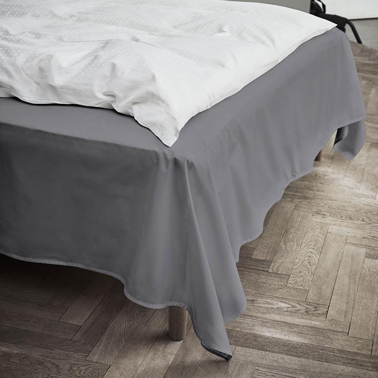 JUNA Percale lagen 150x250 cm grå