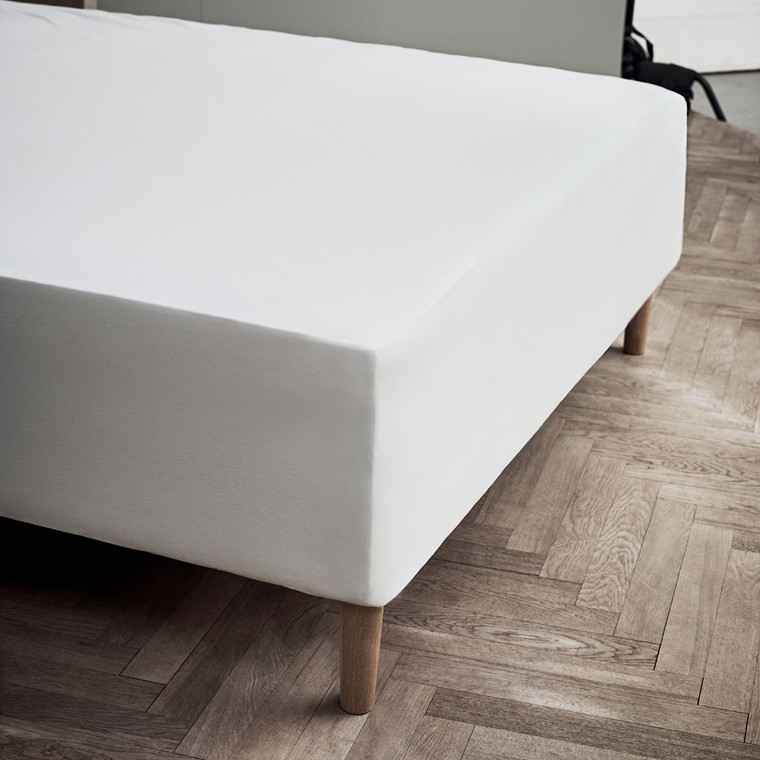 JUNA jersey stræklagen 180x200x45 cm hvid