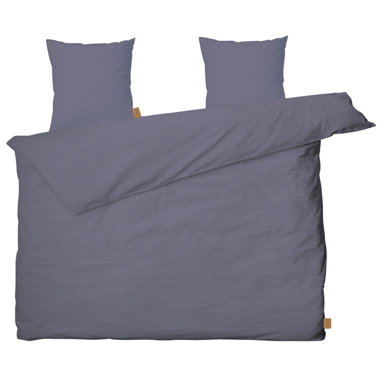 JUNA Cube sengelinned 200 x 220 cm støvet blå