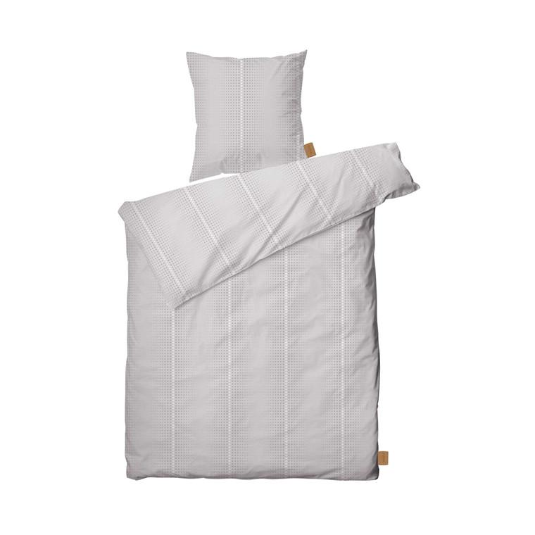Juna Multidots sengelinned 140 x 220 cm hvid