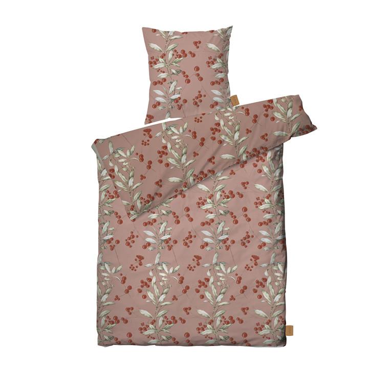 JUNA Harvest Sengetøj rosa 140x200