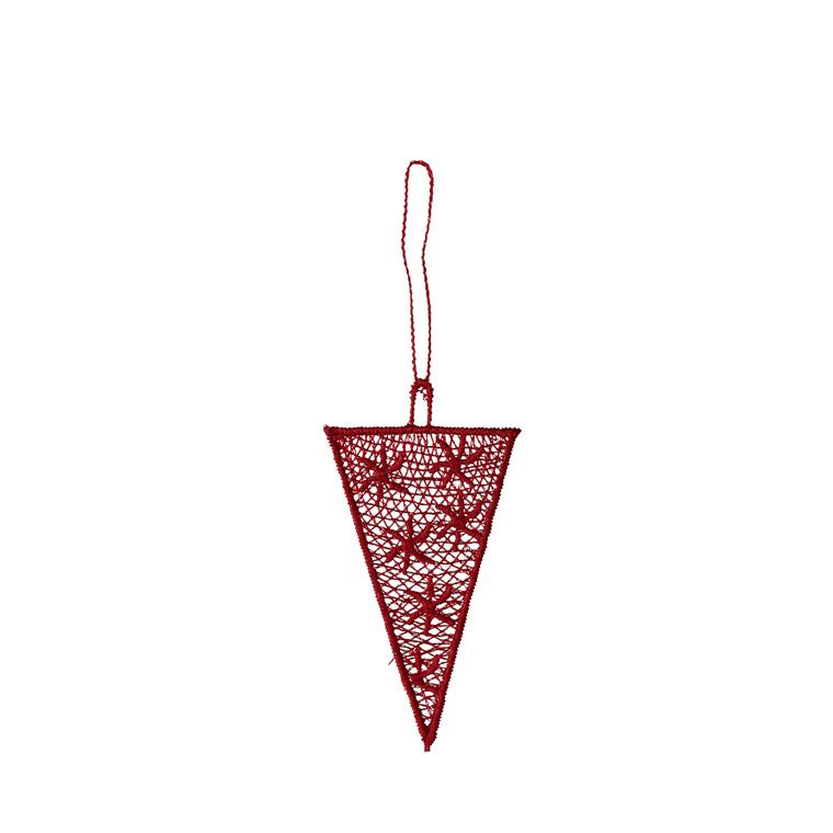 JUNA Noel Kræmmerhus rød 4x8 cm