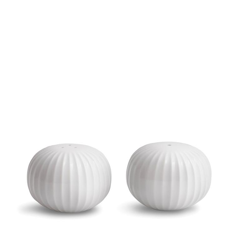 KÄHLER Hammershøi Salt- og pebersæt hvid