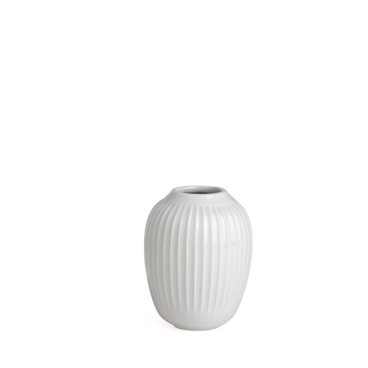 KÄHLER Hammershøi Vase H10 hvid