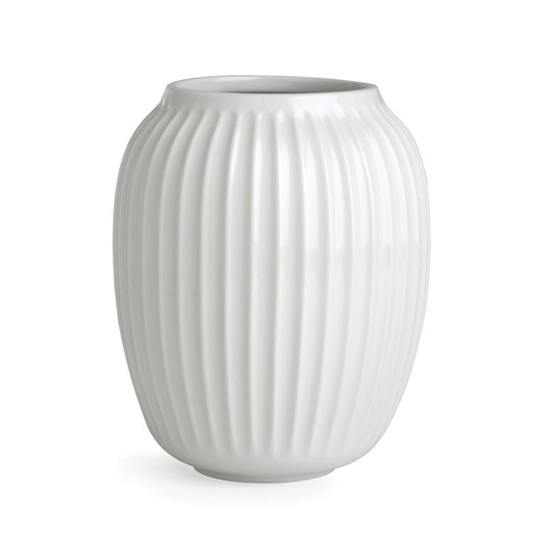 KÄHLER Hammershøi Vase H20 hvid