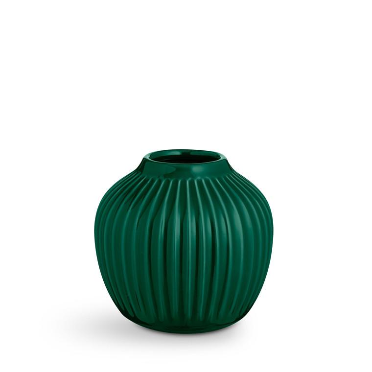 KÄHLER Hammershøi Vase H12,5 grøn