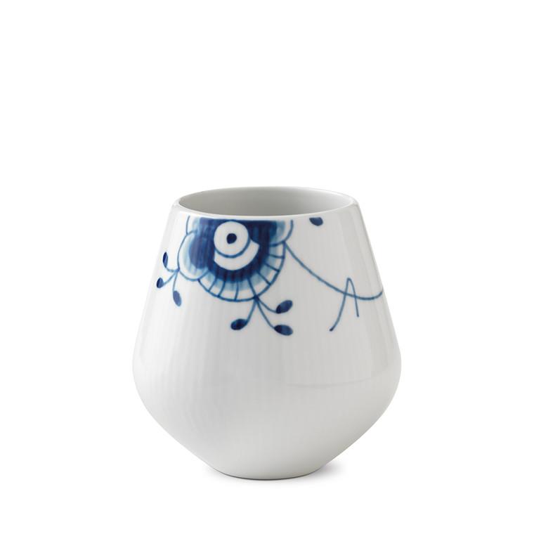 ROYAL COPENHAGEN Blå Mega vase lille