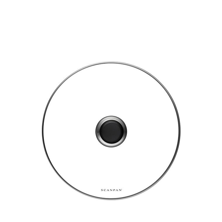 SCANPAN 28cmGlassLidinsleeveClass