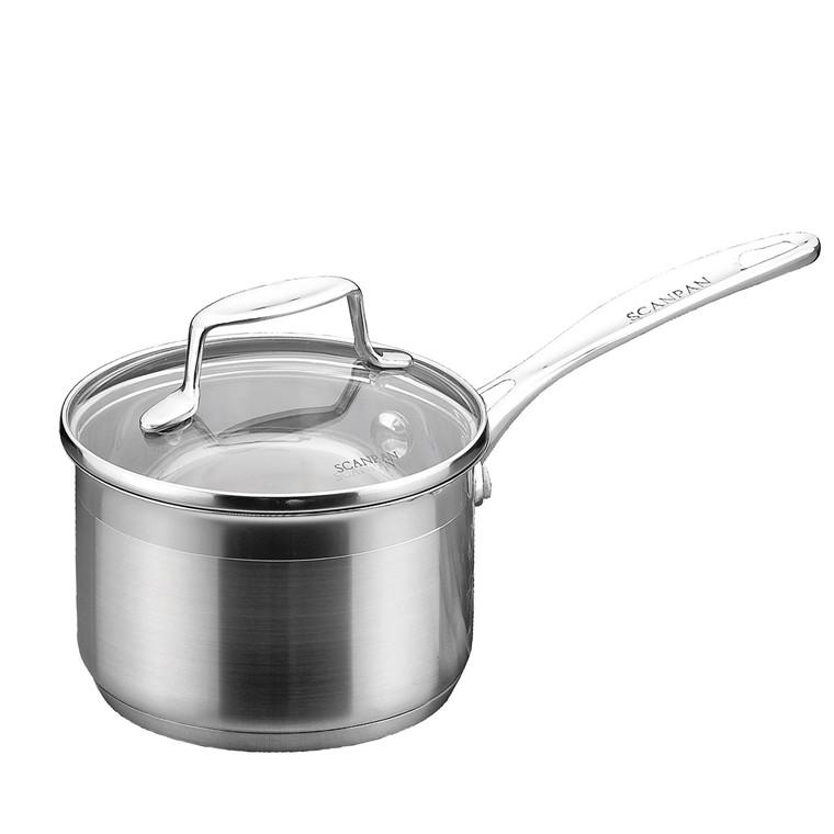SCANPAN Impact kasserolle med låg 1,2 l