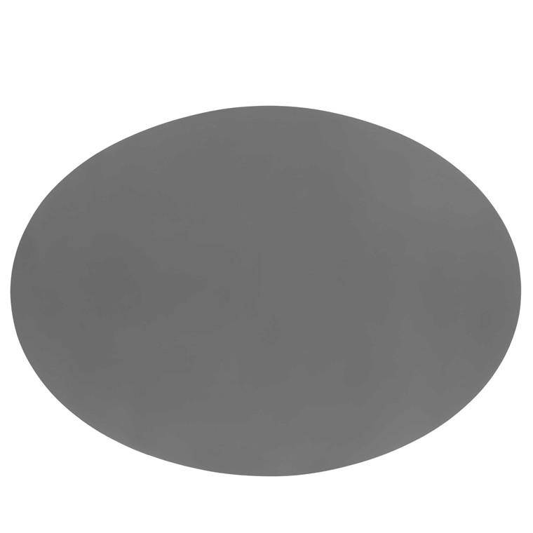 Sej Design Dækkeserviet grå oval 47x34
