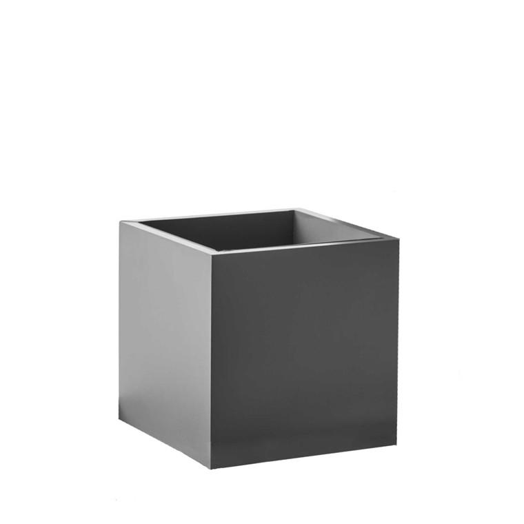 SEJ DESIGN firkantet potte lille grå 12 X 12 X 12 cm