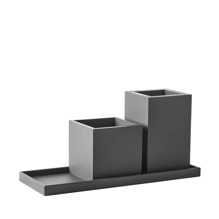 Sej Design Rokoko vase grå 11x11x18