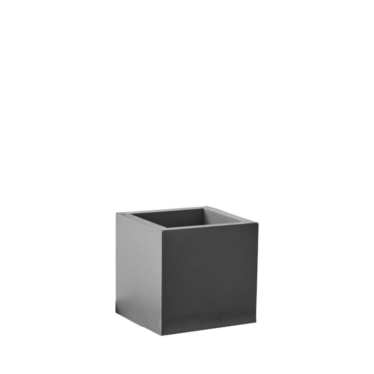 SEJ DESIGN firkantet potte lille grå 8 X 8 X 8