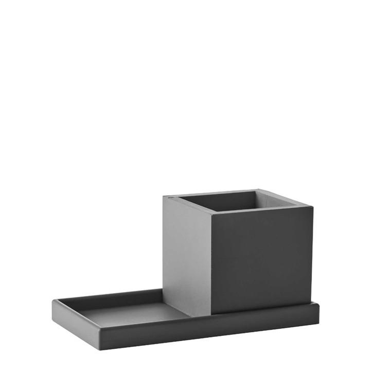 SEJ DESIGN mini bakke grå 9 X 18 cm