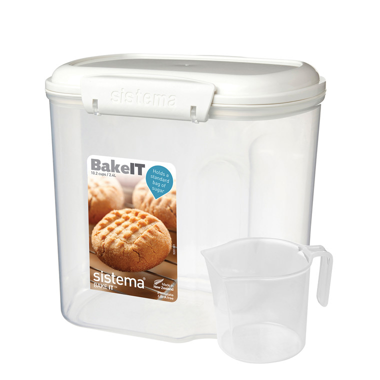 SISTEMA Bake it boks med kop 2,4 L