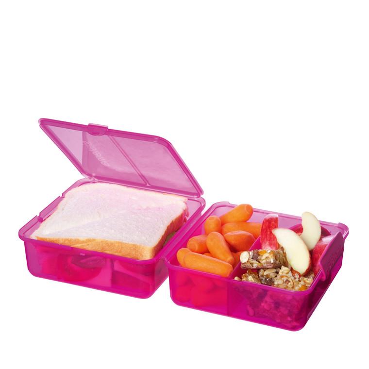 SISTEMA frokost Cube boks 1,4 l farvet