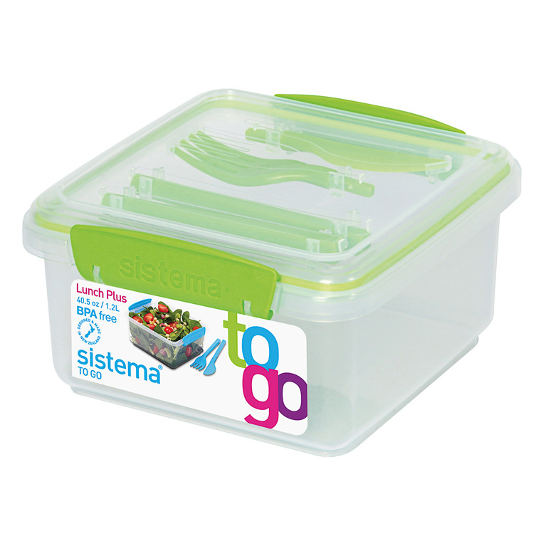 SISTEMA Lunch Plus boks To Go 1,2 l