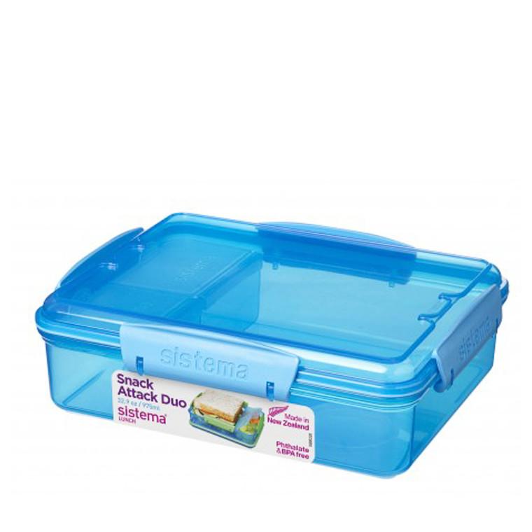 Sistema Snack Attack Duo Lunch boks 975 ml
