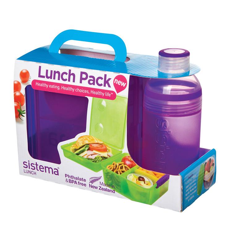 SISTEMA Lunch Pack sæt med madkasse og drikkedunk