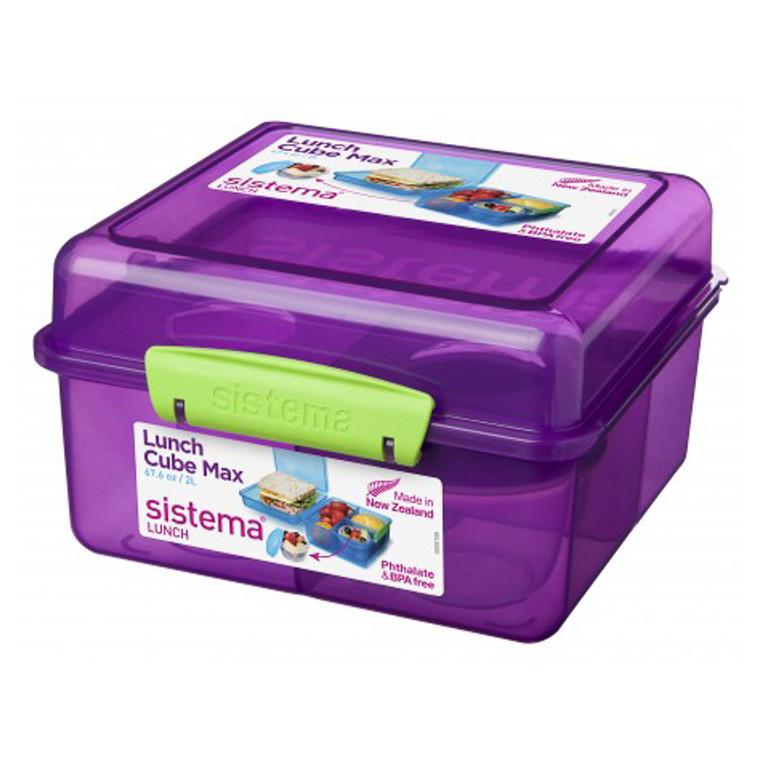 Sistema Lunch Cube Max boks farvet