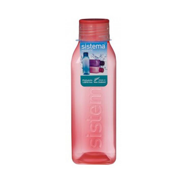 SISTEMA Medium Square Bottle 725ml